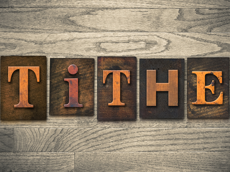 From Chapter Twelve, No, Don't Give Till It Hurts, Tithing (Part One)